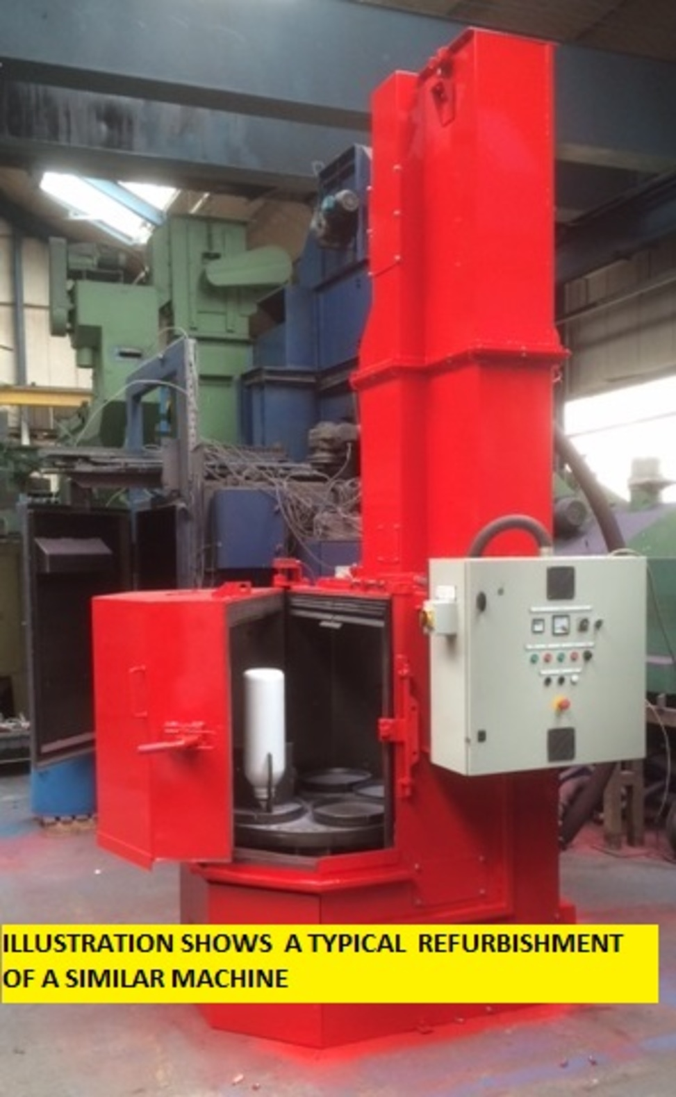 Spencer  Halstead Rotary Table  Machine MLK1000