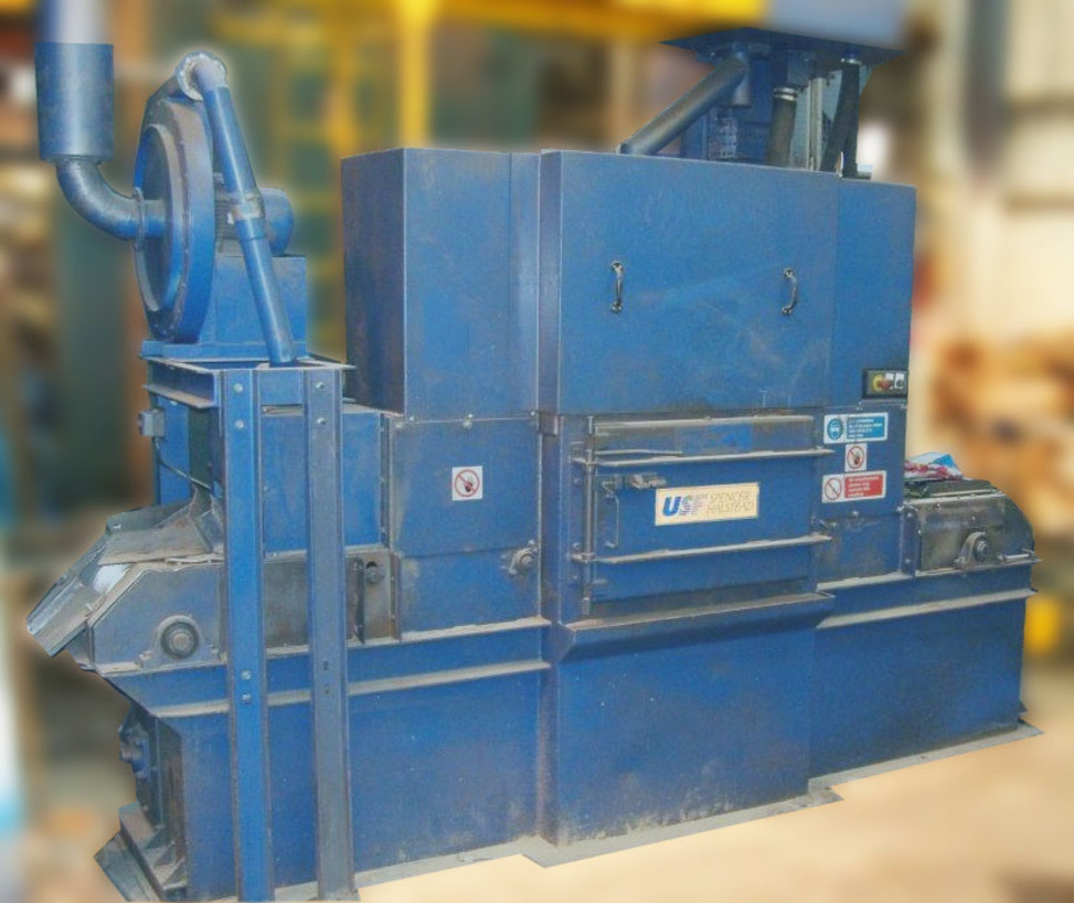 Spencer and Halstead 16 inch Twin wheel Multi Belt machine - photo shows original condition prior to Booth improvement