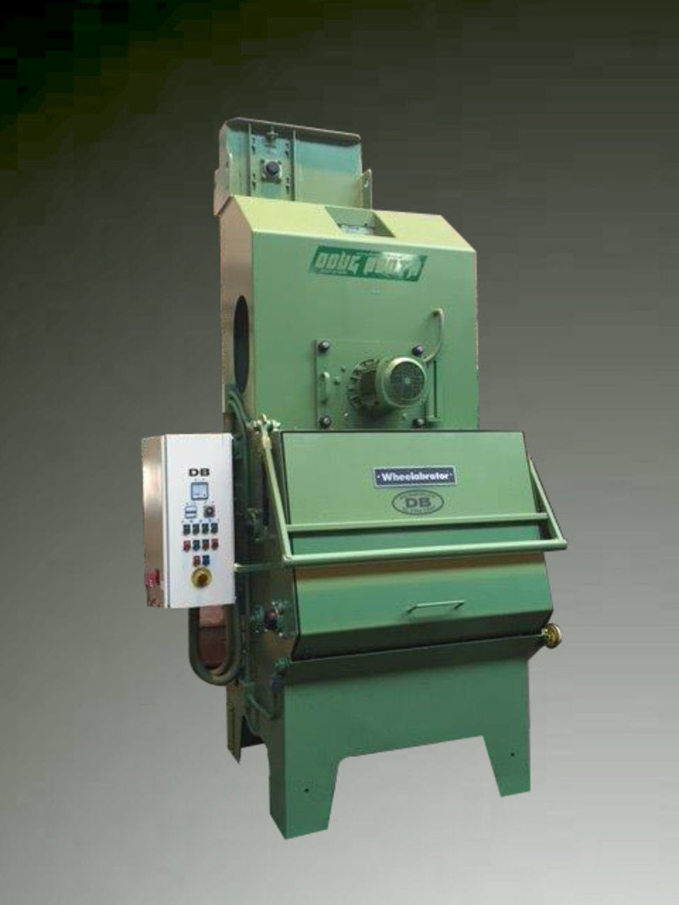 tumble blast machine used